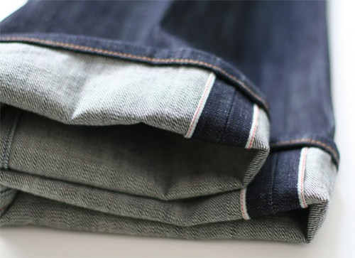 selvedge denim cuffs