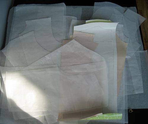 men's shirt sloper drafts