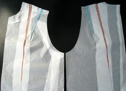Men's shirt sloper with ease