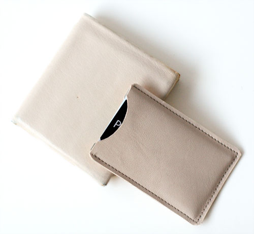 Wallet and card case