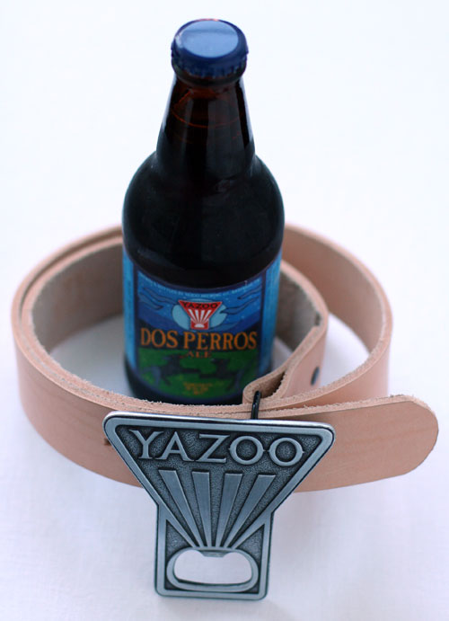 Yazoo Brewery Belt Buckle