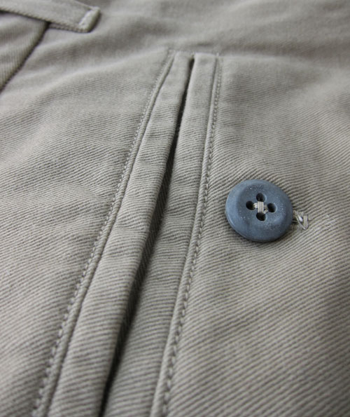 Welt pocket close up