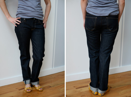 women's selvedge denim