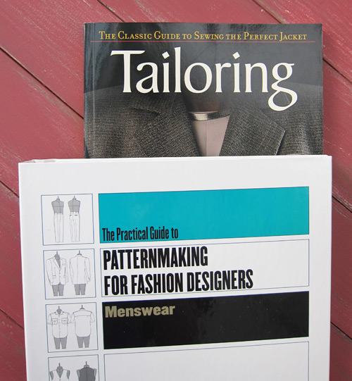 pattern making, tailoring books