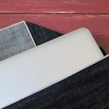 selvedge denim laptop sleeve