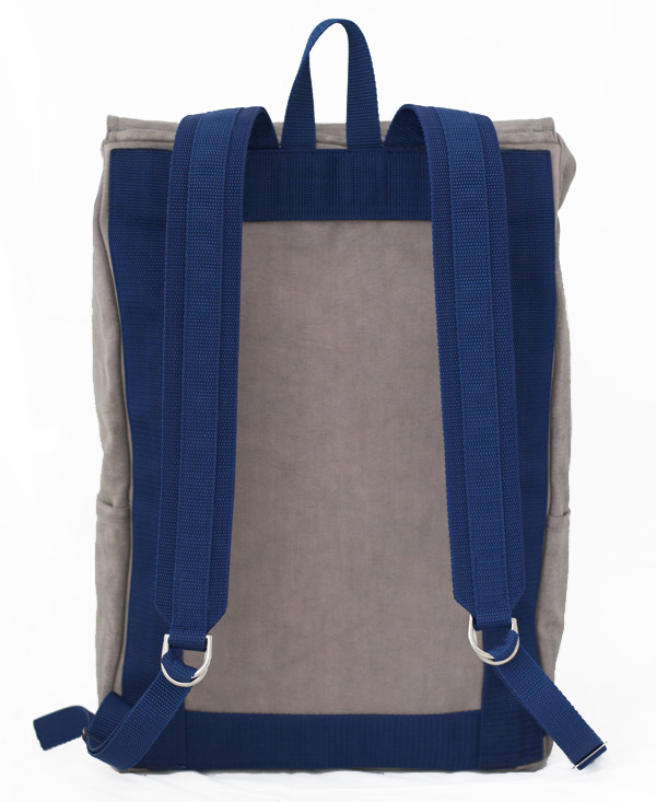 Waxed Canvas backpack, back