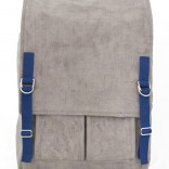 Waxed Canvas backpack, front