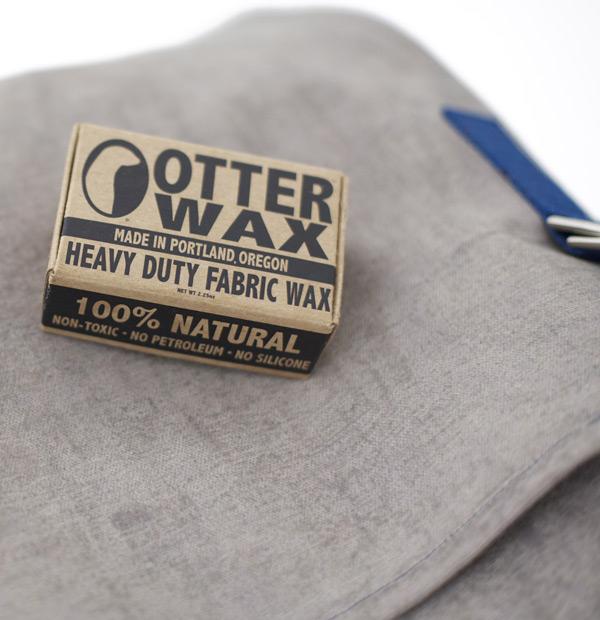 Waxed Canvas backpack, wax