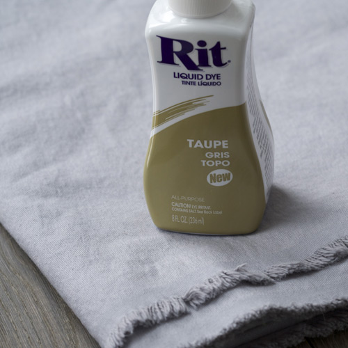 rit fabric dye instructions