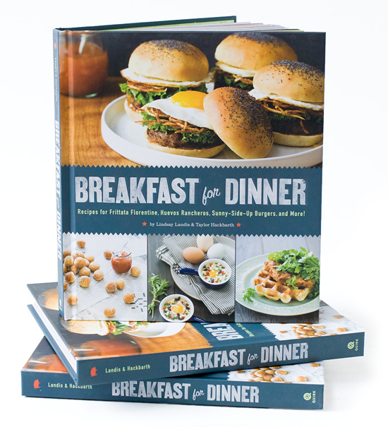 Breakfast for dinner cook book