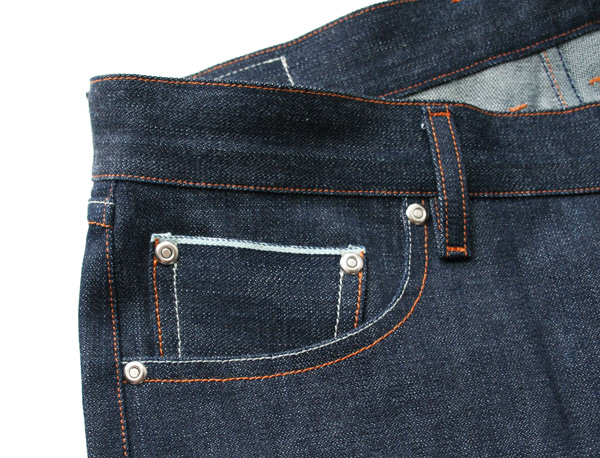 selvedge denim coin pocket