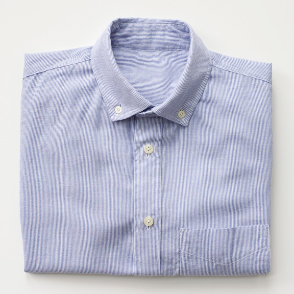 folded-striped-shirt
