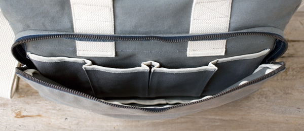 Canvas Shoulder Bag, pocket