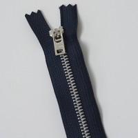 aluminum jeans zipper