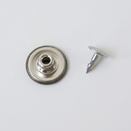 antique nickel jeans button