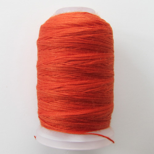 Burnt Orange topstitching thread
