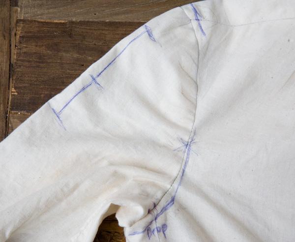 muslin jacket adjustments