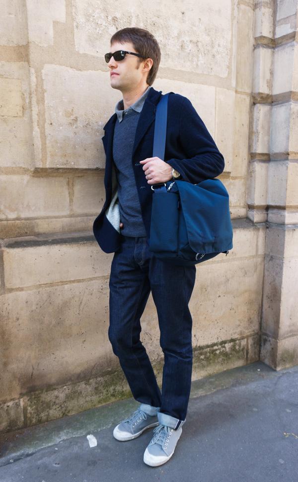 Paris, shoulder bag