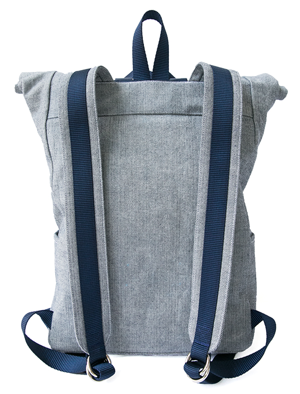 The Desmond Roll Top Backpack Pattern | TaylorTailor