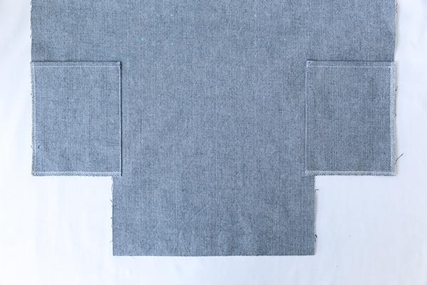 side pockets exterior