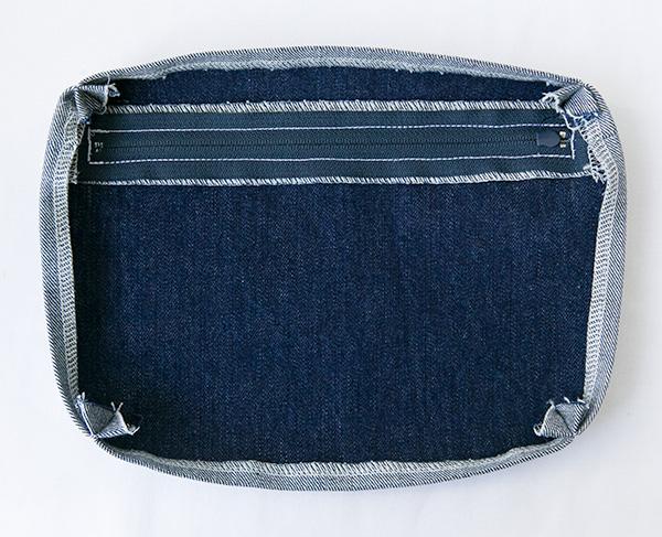 zip pocket seam allowance