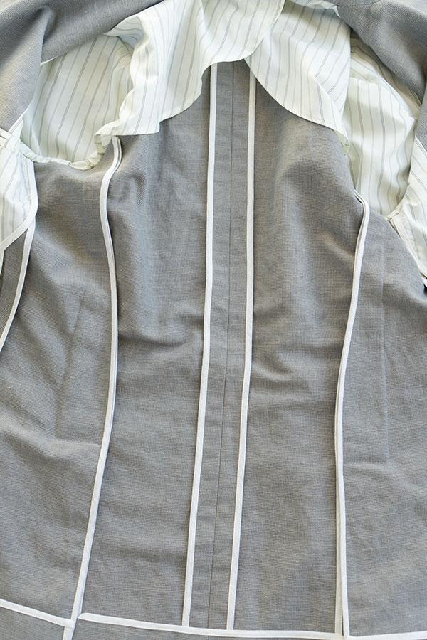 jacket inside seams