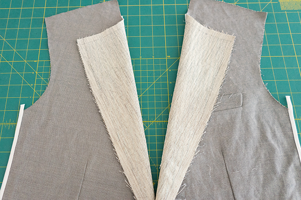 jacket pad stitch lapel