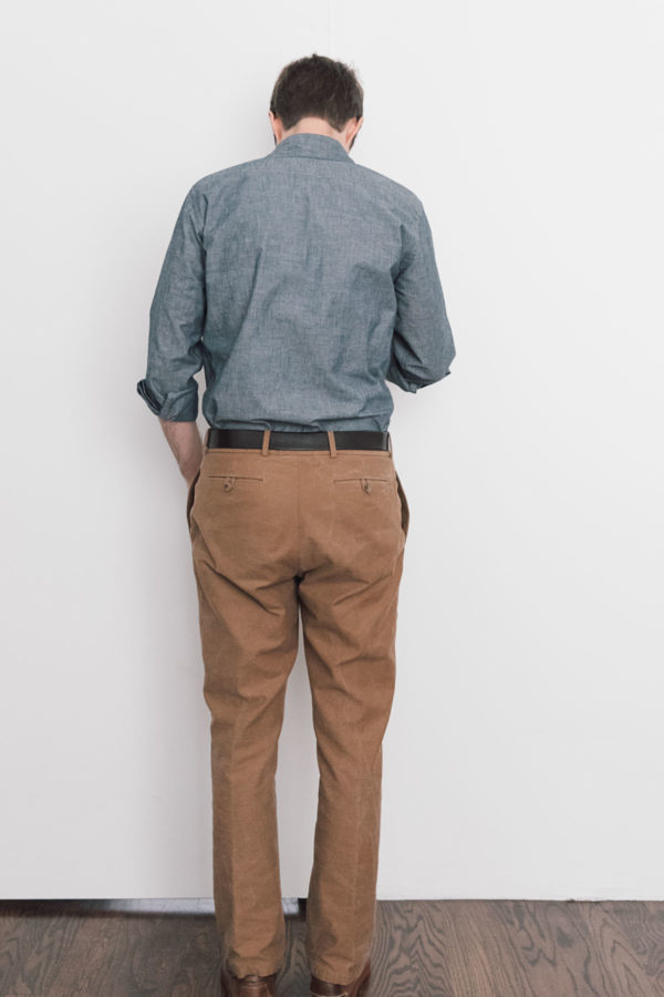 Chinos fit pic back