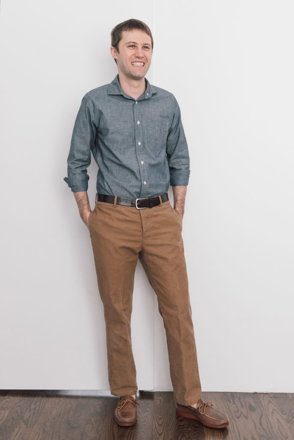 Chinos fit pic front