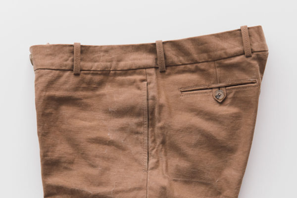 Trousers side seam pocket