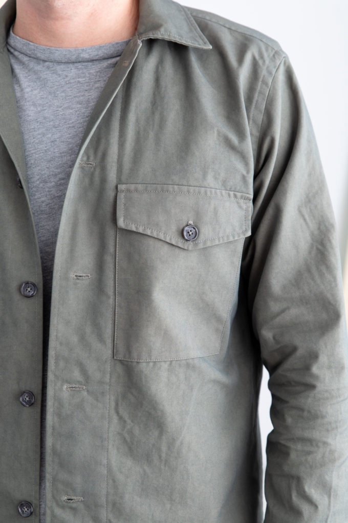 overshirt pocket