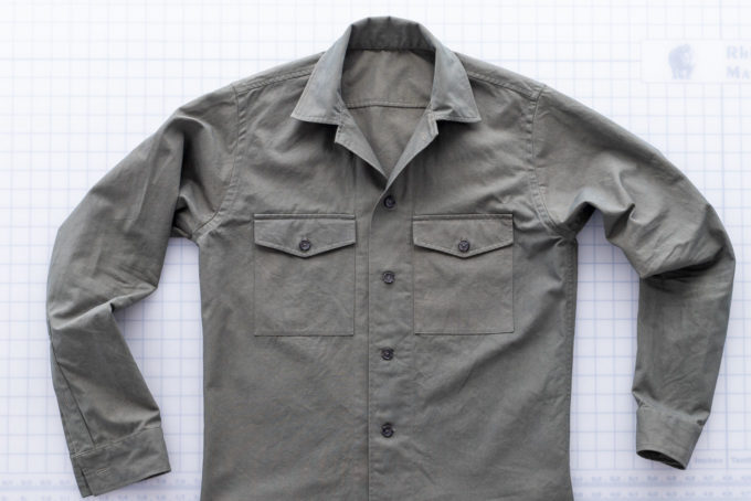 overshirt top down
